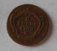 Rakousko 2 Soldo 1799 K Josef II.