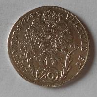 Rakousko 20 Krejcar 1779 SKPD Josef II.