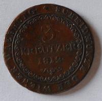 Rakousko 3 Krejcar 1812 G František II.