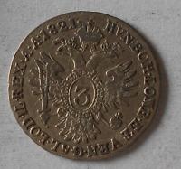 Rakousko 3 Krejcar 1821 A František II.