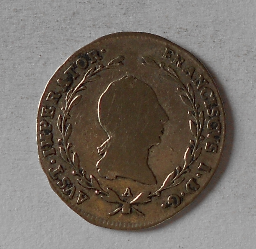 Rakousko 5 Krejcar 1821 A František II.