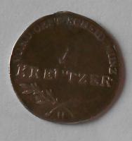 Rakousko 6 Krejcar 1796 H František II. Měl ouško