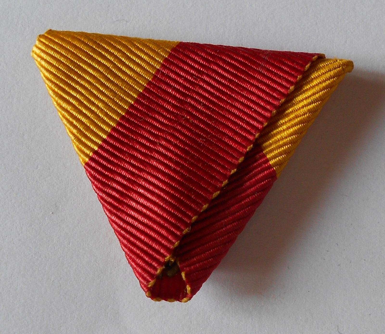 Rakousko Bosenská pamětní medaile, Původní stuha