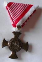 Rakousko kříž – Zn 1916