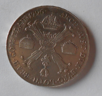 Rakousko Tolar křížový 1796 F František II. Vzácná mincovna