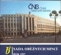 Ročníková sada oběžných mincí ČR (1997), stavy 0/0
