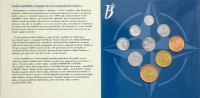 Ročníková sada oběžných mincí ČR (1999-NATO), stavy 0/0