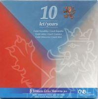 Ročníková sada oběžných mincí ČR (2003-10.let ČR), stav 0/0