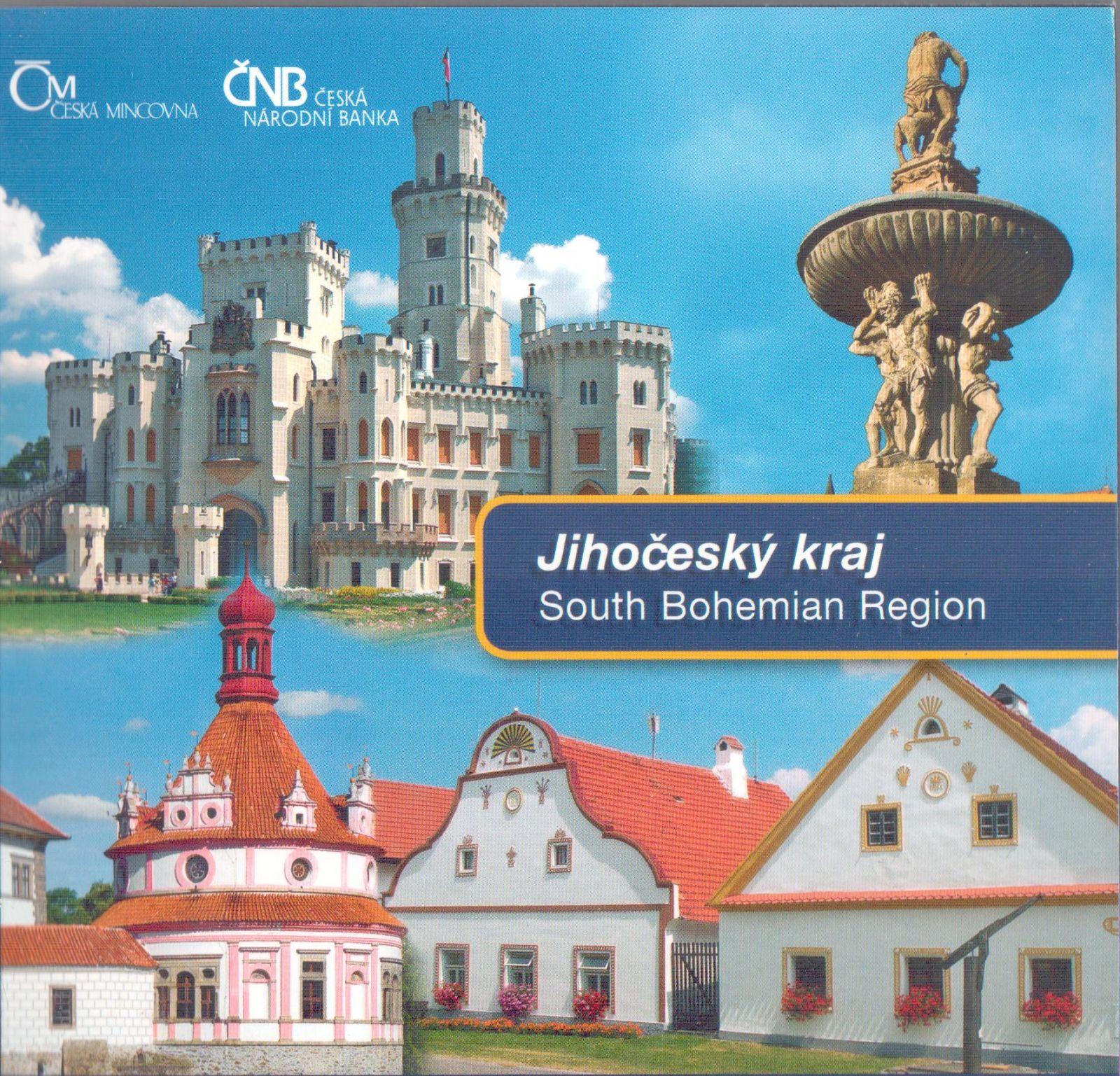Ročníková sada oběžných mincí ČR (2009-Jihočeský kraj), stav 0/0
