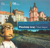 Ročníková sada oběžných mincí ČR (2010-Plzeňský kraj), stavy 0/0