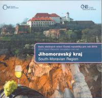 Ročníková sada oběžných mincí ČR (2014-Jihomoravský kraj), stavy 0/0
