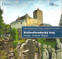 Ročníková sada oběžných mincí ČR (2015-Královéhradecký kraj), stavy 0/0