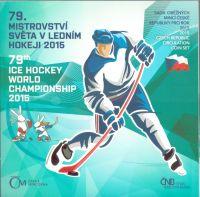 Ročníková sada oběžných mincí ČR (2015-Mistrovství světa v ledním hokeji), stavy 0/0