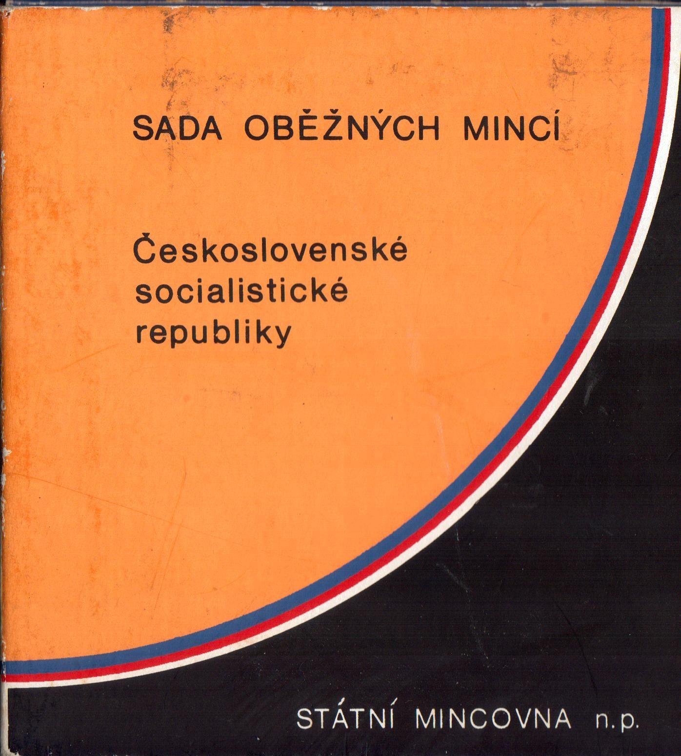 Ročníková sada oběžných mincí ČSSR (1986), stavy 0/0