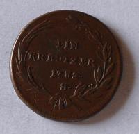 Uhry 1 Krejcar 1782 A Josef II.