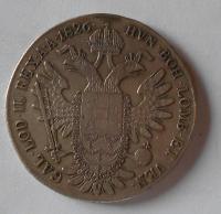 Uhry Tolar 1826 B František II. Měl ouško