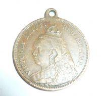 úmrtní žeton Viktorie, 1901, Velká Británie