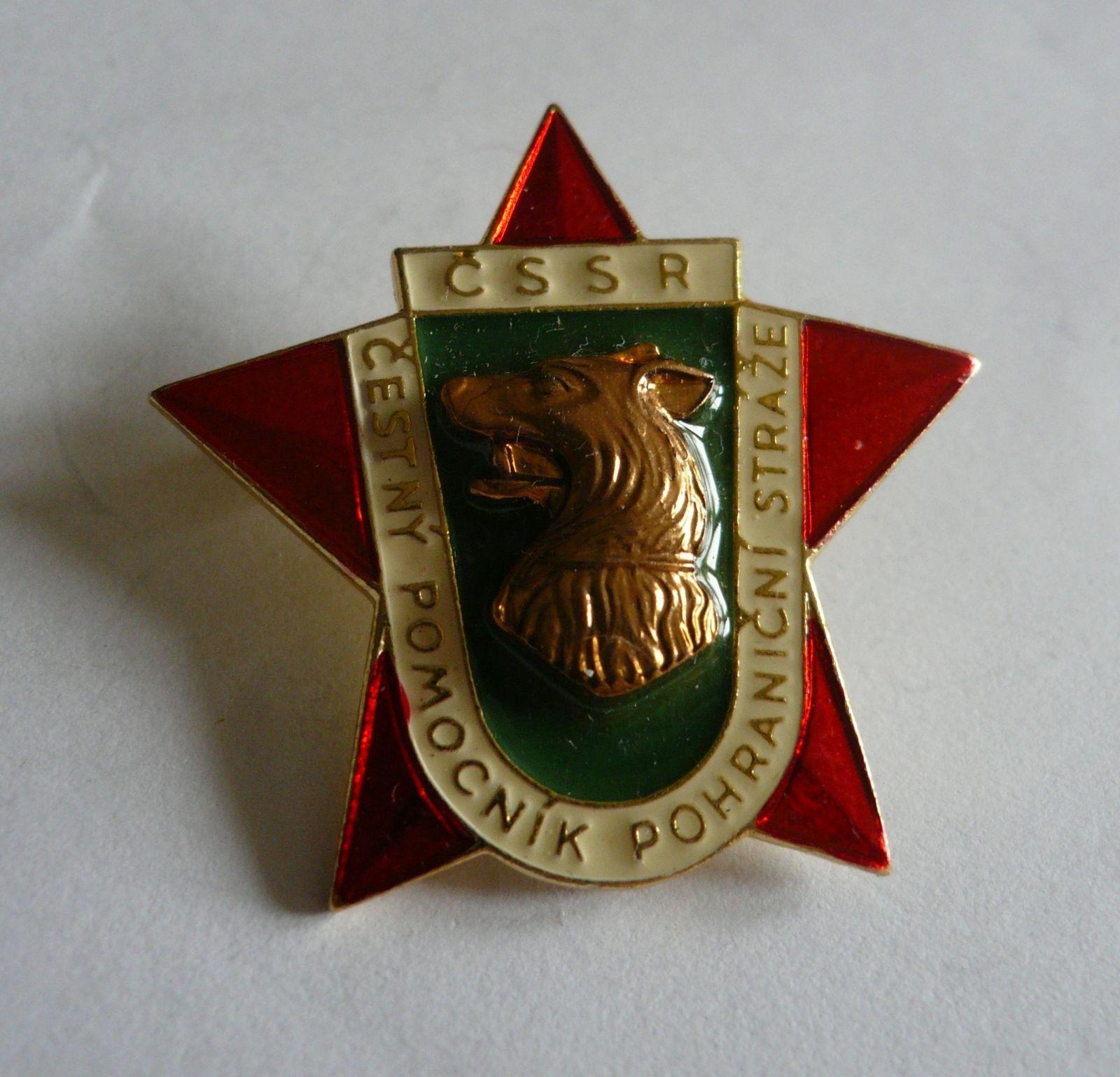 čestný pomocník pohraniční stráže, ČSSR