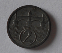 ČSR 1 Haléř 1924