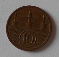 ČSR 10 Haléř 1928