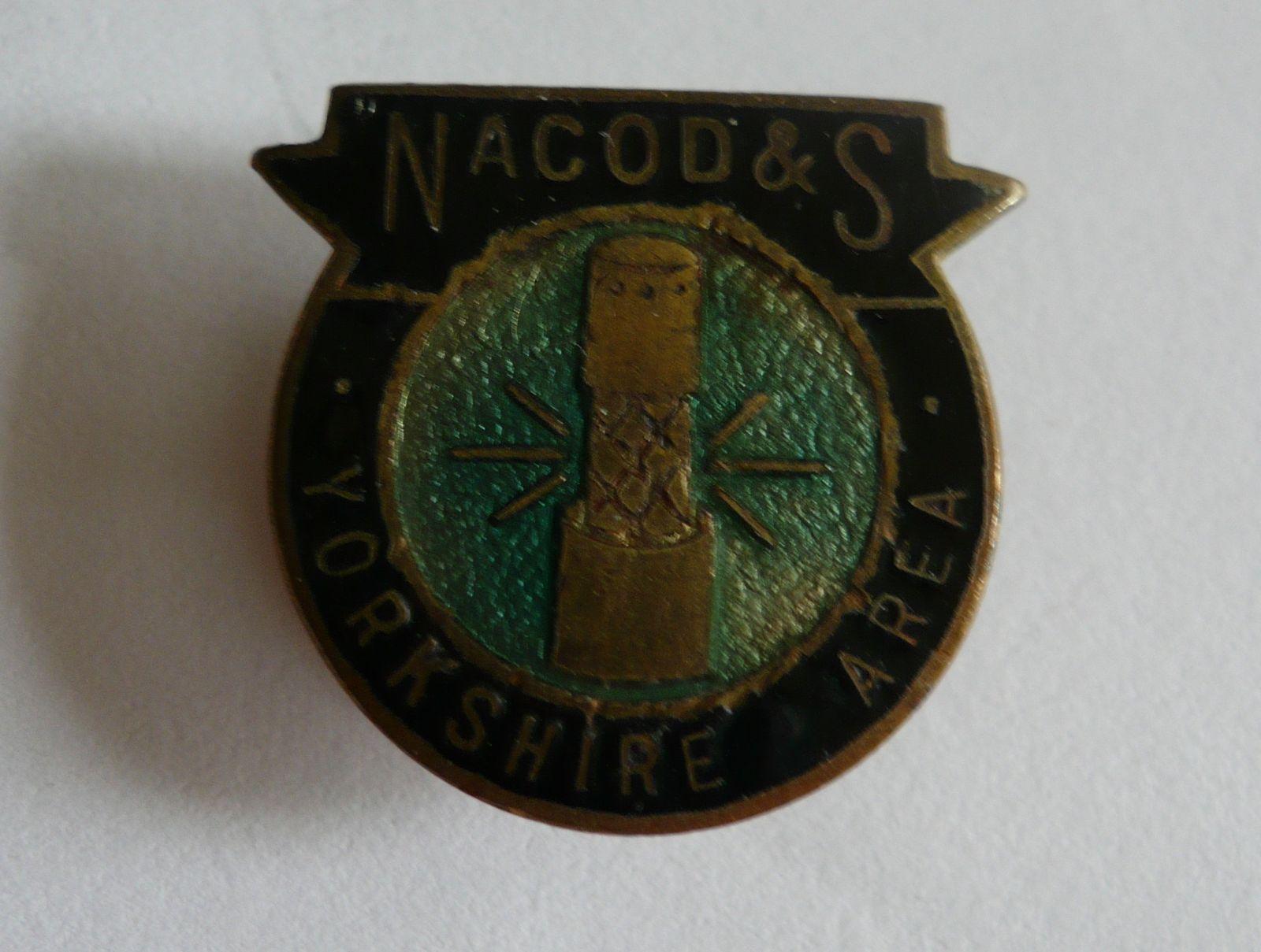 klopový odznak NACORD, Velká Británie