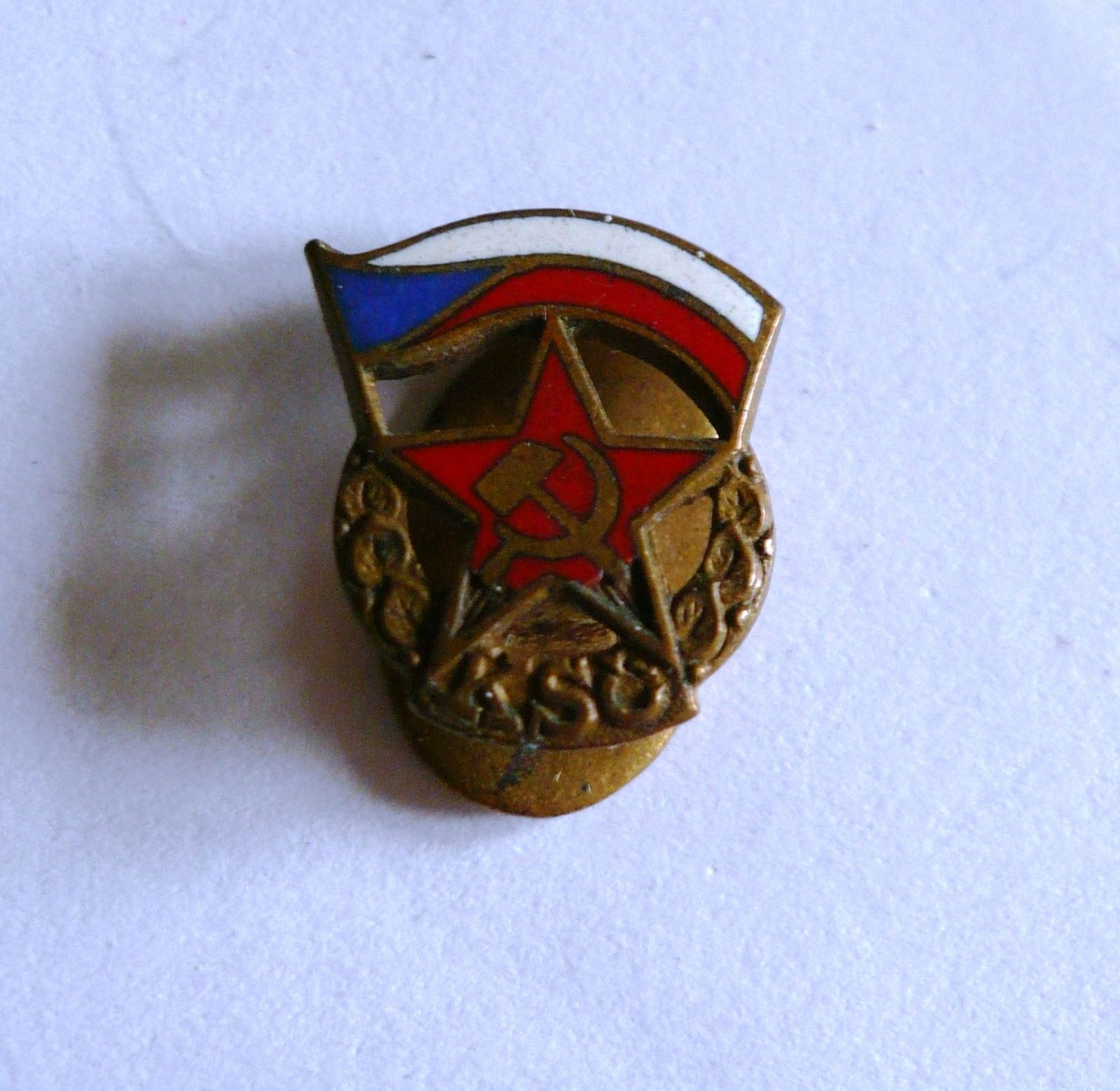KSČ-klopový odznak-50.léta