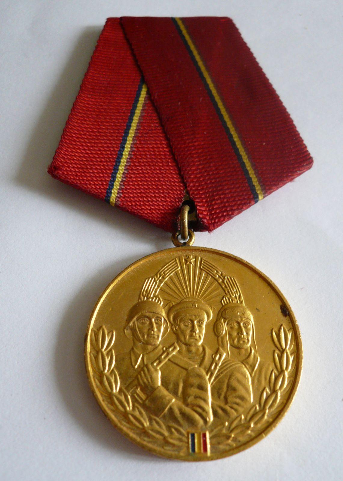 Meritur, militar, Au stupeň, Rumunsko