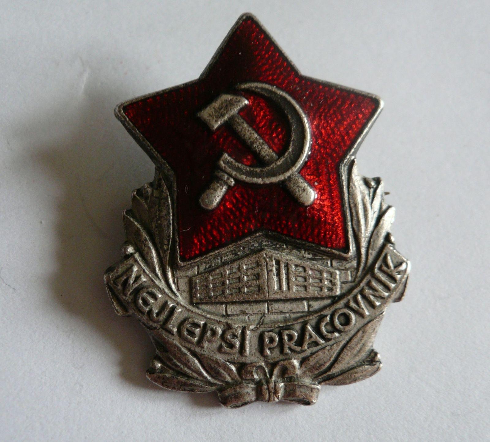 nejlepší pracovník, ČSSR