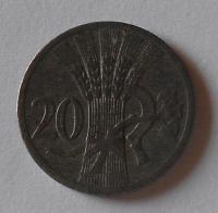 P-Č+M 20 Haléř 1940