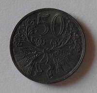 P-Č+M 50 Haléř 1942