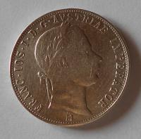 Rakousko 1 Zlatník/Gulden 1859 M
