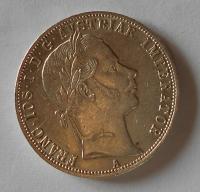 Rakousko 1 Zlatník/Gulden 1861 A Vídeň stav