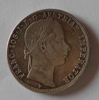 Rakousko 1 Zlatník/Gulden 1864 V falzum 11,89g