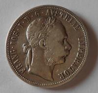 Rakousko 1 Zlatník/Gulden 1889 Vídeň