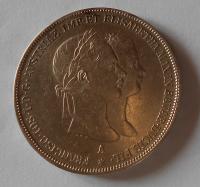 Rakousko 2 Zlatník/Gulden 1854 zásnubní