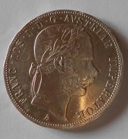 Rakousko 2 Zlatník/Gulden 1868 A měl ouško
