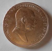 Rakousko 5 Koruna 1848-1908 60let vlády, pěkná