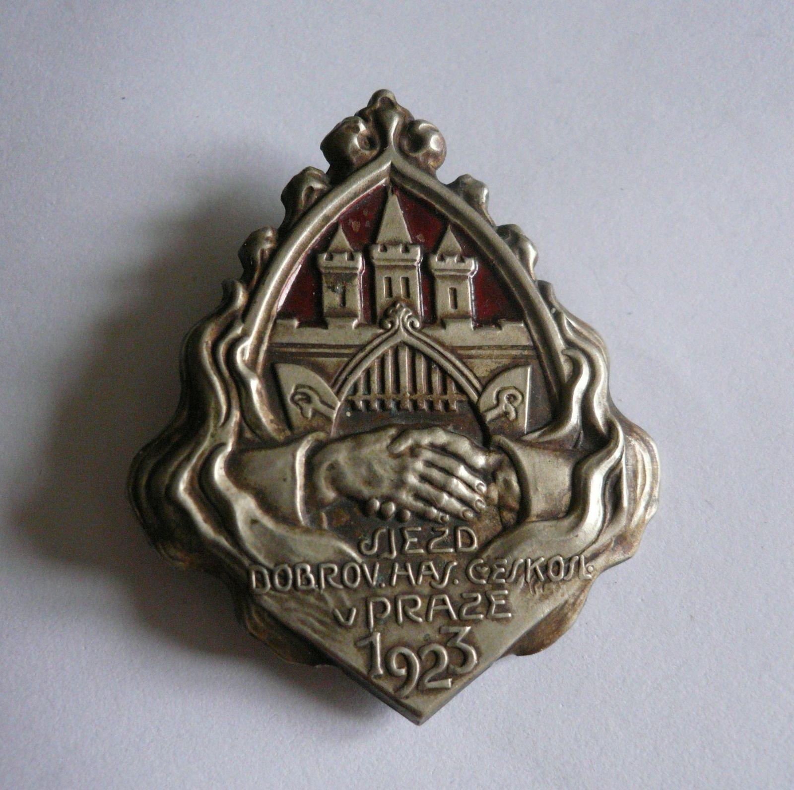 sjezd dobrovolného hasičstva v Praze 1923, ČSR