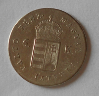 Uhry Hat Krejcár 1849 NB stav
