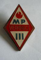 vedoucí mladý požárník III.třídy, ČSR