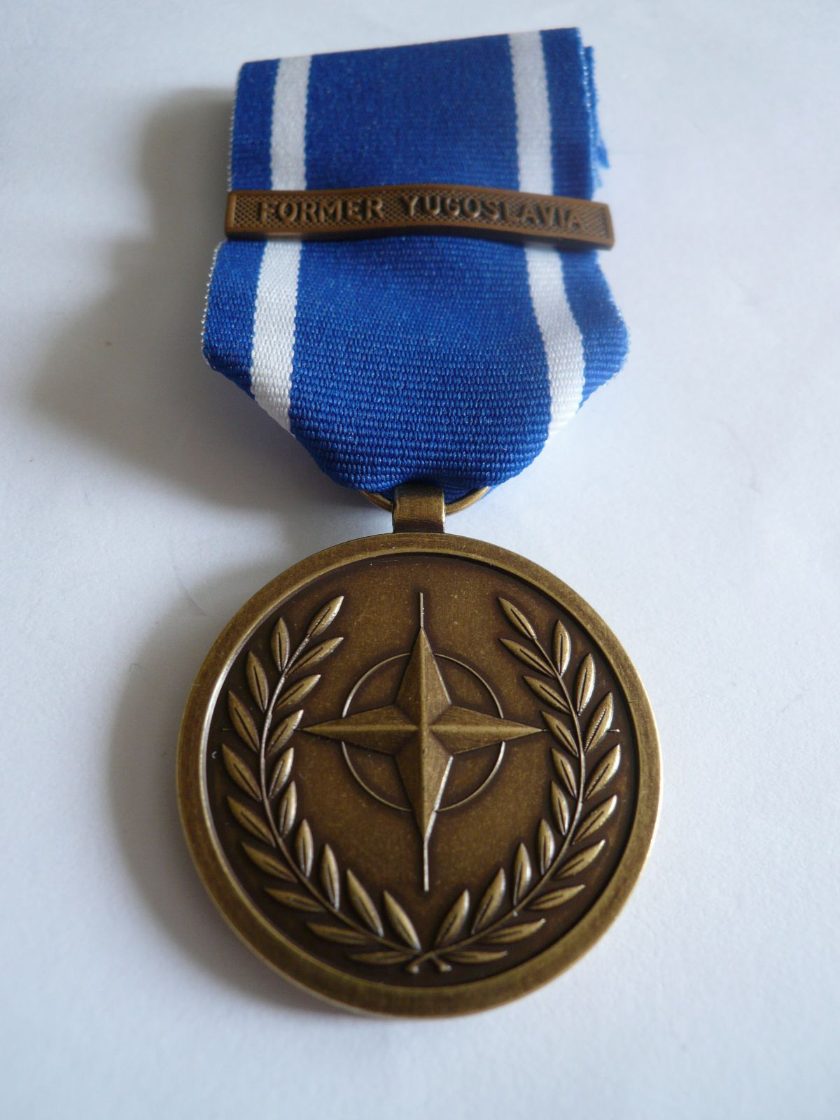 za boje v Jugoslávii, NATO