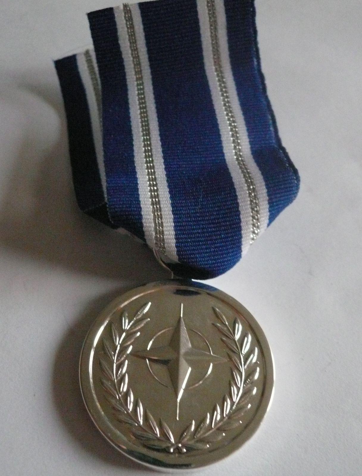 záslužná medaile stříbrný stupeň, NATO