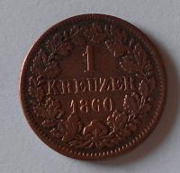 Baden 1 Krejcar 1860
