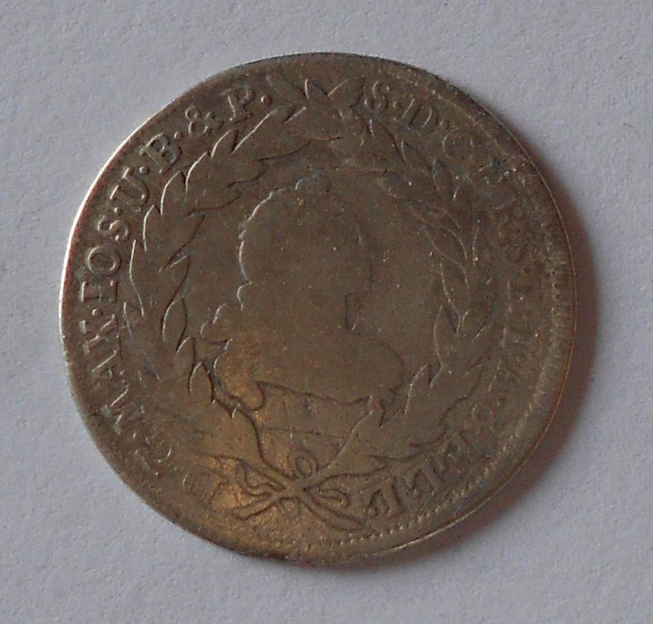 Bavorsko 10 Krejcar 1769 Max. Josef