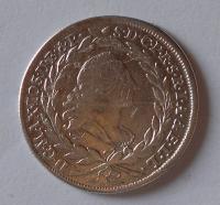 Bavorsko 20 Krejcar 1774 Max. Josef