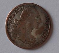 Bavorsko 6 Krejcar 1766 Max. Josef