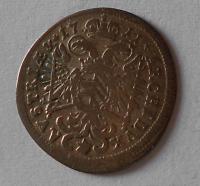 Bavorsko – Mnichov 3 Krejcar 1713 Josef I.