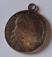 Bavorsko Tolar 1768 Max. Josef, dobové ouško
