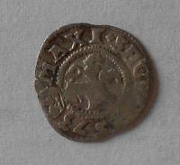 Čechy Bílý peníz 1573 Maxmilián II.