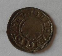 Čechy Bílý peníz 1580 Rudolf II.